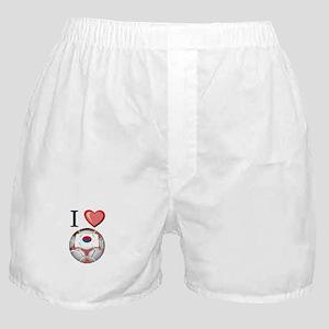 I Love South-Korea Football Boxer Shorts