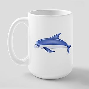 DOLPHIN_10 Large Mug
