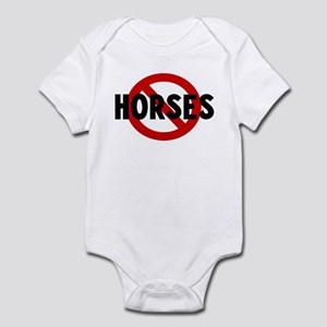 Anti horses Infant Bodysuit