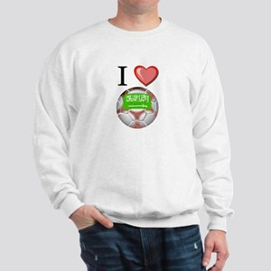 I Love Saudi-Arabia Football Sweatshirt