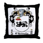 O'Kennelly Family Crest Throw Pillow
