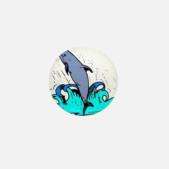 DOLPHIN_11 Mini Button