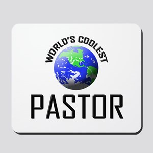 World's Coolest PASTOR Mousepad