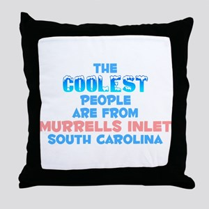 Coolest: Murrells Inlet, SC Throw Pillow