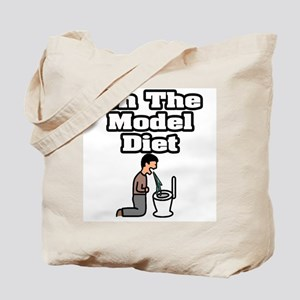 """On The Model Diet"" Tote Bag"