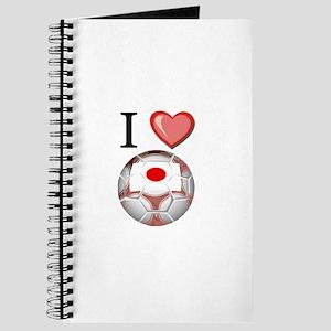 I Love Japan Football Journal