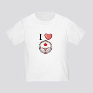 I Love Japan Football Toddler T-Shirt