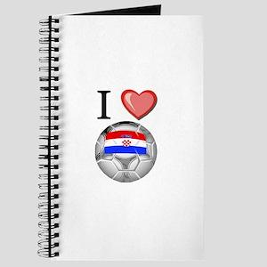 I Love Croatia Football Journal