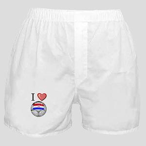 I Love Croatia Football Boxer Shorts