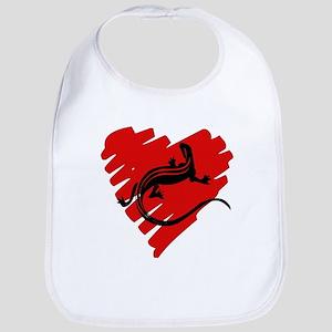 Heart of Newt Anti-Valentine Bib