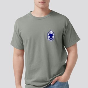 USAF: CMSgt E-9 Mens Comfort Colors Shirt
