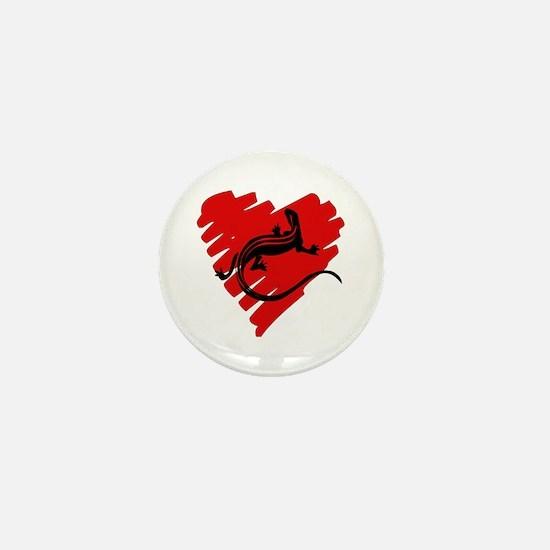 Heart Of Newt Anti-Valentine Mini Button