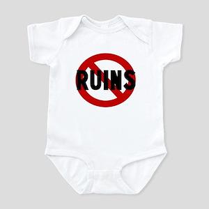 Anti ruins Infant Bodysuit