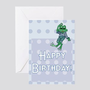 Boy's Leap Day Birthday Card