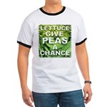 """Give Peas a Chance"" Ringer T"