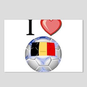 I Love Belgian Football Postcards (Package of 8)