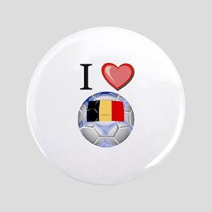 "I Love Belgian Football 3.5"" Button"