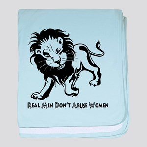 Domestic Violence Statement baby blanket