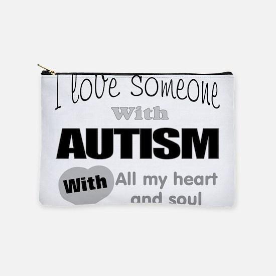 Autism love Makeup Bag