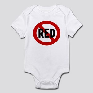 Anti red Infant Bodysuit
