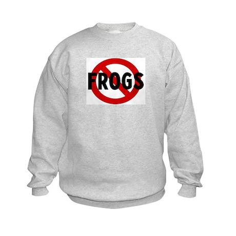 Anti frogs Kids Sweatshirt