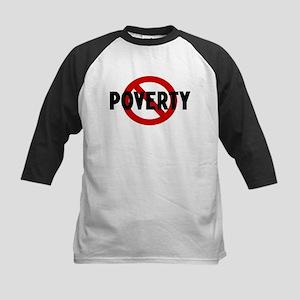 Anti poverty Kids Baseball Jersey