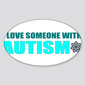 love and autism Sticker