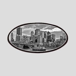 Pittsburgh Skyline (Black&White) Patch