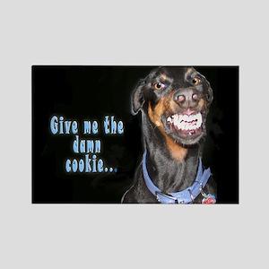 Doberman Pinscher Smiles Magnets