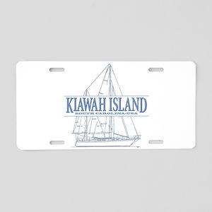 Kiawah Island Aluminum License Plate