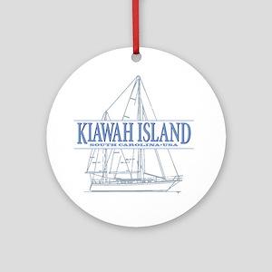 Kiawah Island Round Ornament