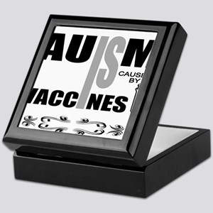 autism cause Keepsake Box