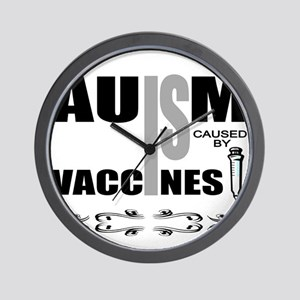 autism cause Wall Clock