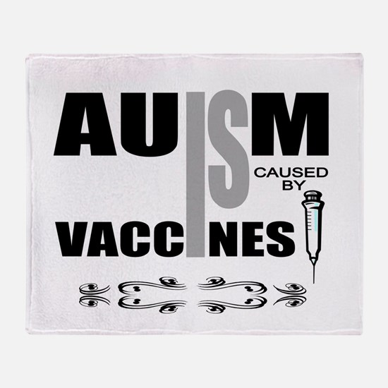 autism cause Throw Blanket