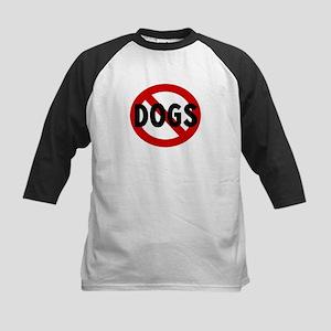 Anti dogs Kids Baseball Jersey