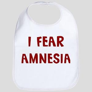 I Fear AMNESIA Bib