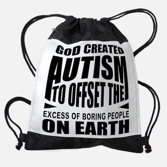 Autism support Drawstring Bag