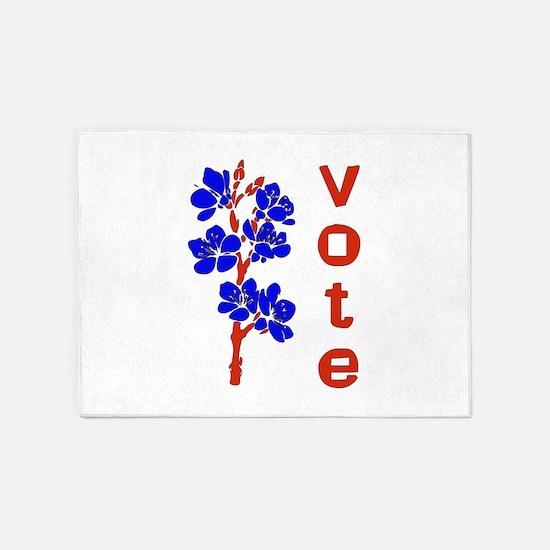Vote 2018 5'x7'Area Rug