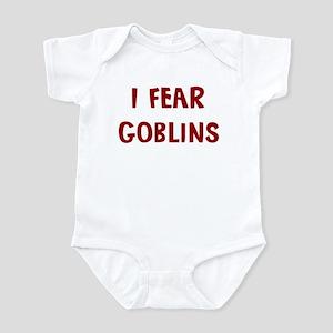 I Fear GOBLINS Infant Bodysuit