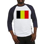 Large Belgian Flag Baseball Jersey