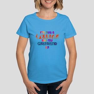 I'm not a lesbian... Women's Dark T-Shirt