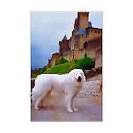 Great Pyrenees Mini Poster Print