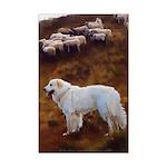 Great Pyrenees Mini Poster Print - FlockGuard
