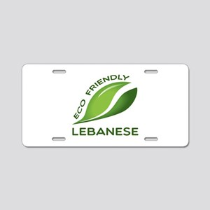 Eco Friendly Lebanese Count Aluminum License Plate
