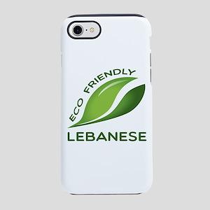 Eco Friendly Lebanese County iPhone 8/7 Tough Case