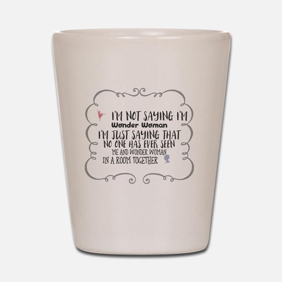 Cute As seen Shot Glass