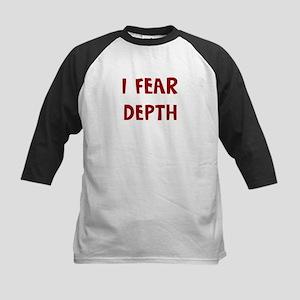I Fear DEPTH Kids Baseball Jersey