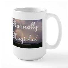 Naturaly Magickal Rainbow Large Mug
