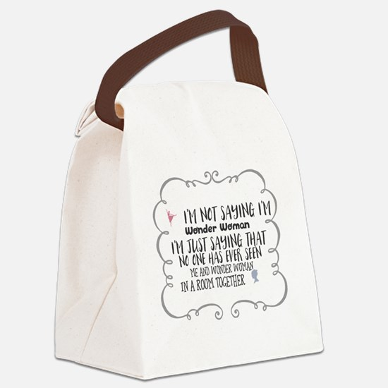 Womans Canvas Lunch Bag