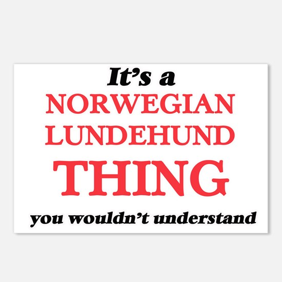 It's a Norwegian Lund Postcards (Package of 8)